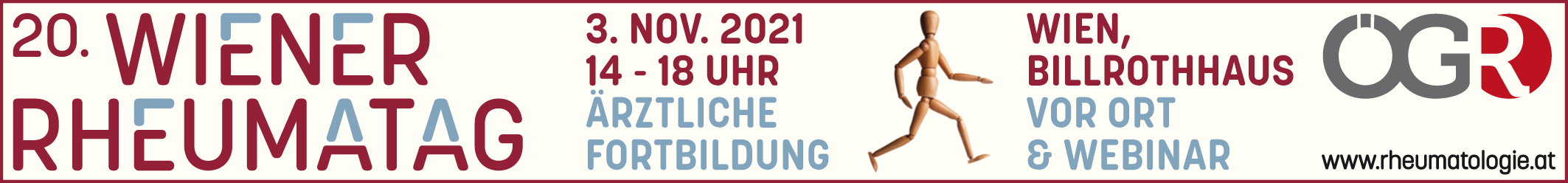 20. Wiener Rheumatag 2021