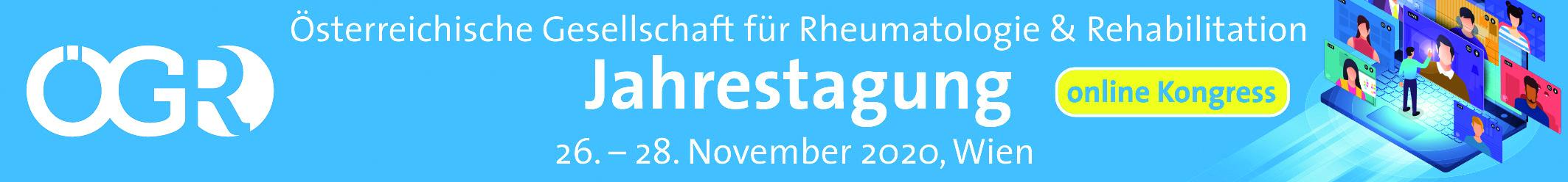 Jahrestagung der Österreichischen Gesellschaft für Rheumatologie & Rehabilitation